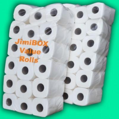 JimiBOX economy toilet rolls