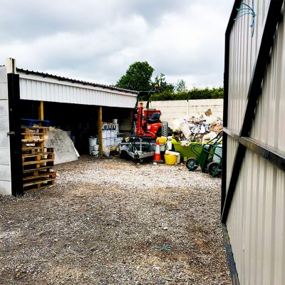 compound storage facility Preston, Lancashire
